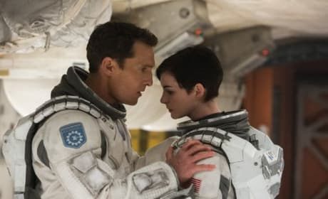 Anne Hathaway Matthew McConaughey Interstellar