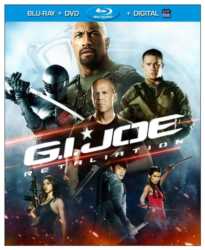 G.I. Joe Retaliation Blu-Ray/DVD