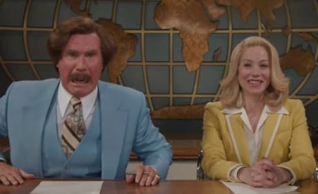 Anchorman 2 Will Ferrell Christina Applegate