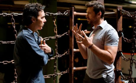 Shawn Levy Directs Hugh Jackman
