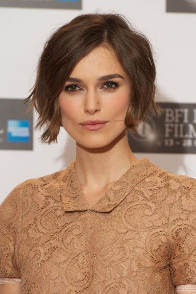 British Actress Keira Knightley