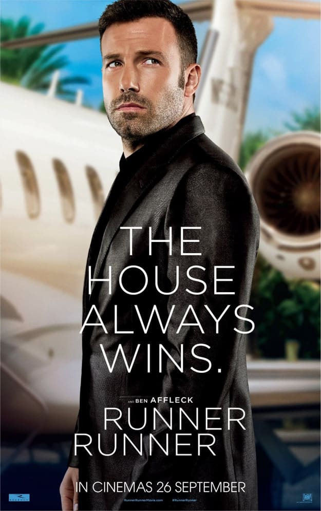 Ben Affleck Runner Runner Poster