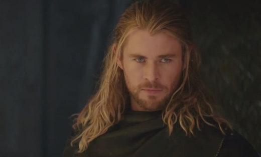 Chris Hemsworth Stars as Thor in Thor: The Dark World