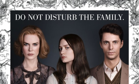 Stoker Poster Drops: Do Not Disturb the Family