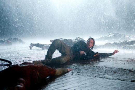 Brad Pitt from World War Z