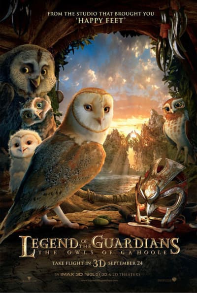 Legend of the Guardians Theatrical Poster
