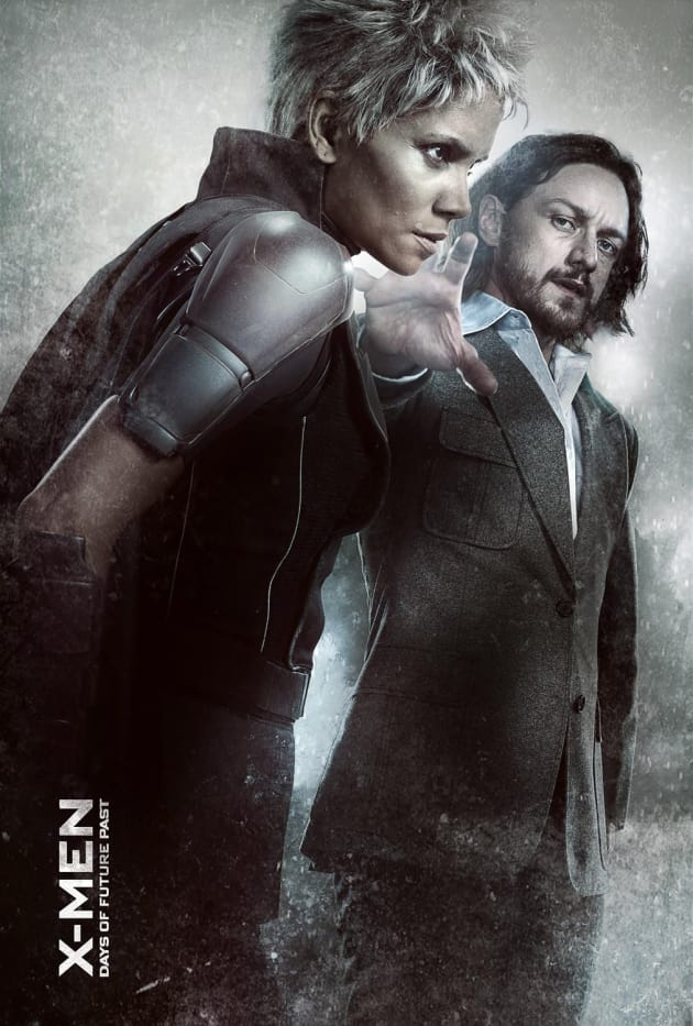X-Men Days of Future Past Professor X Storm Poster