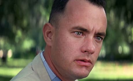 Tom Hanks is Forrest Gump