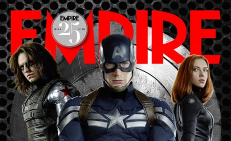Captain America Black Widow Empire Magazine