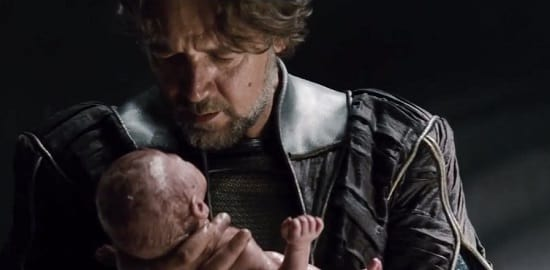 Russell Crowe Stars in Man of Steel