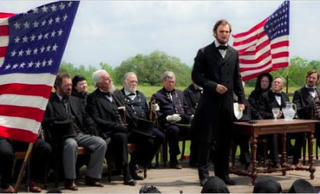 Benjamin Walker in a First Look at Abraham Lincoln: Vampire Hunter
