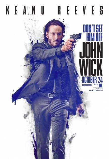 John Wick Action Poster