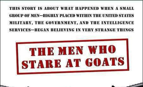 The Men Who Stare at Goats Book