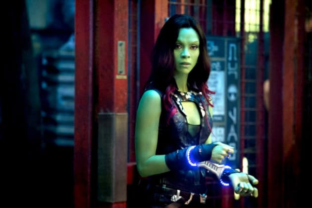 Guardians of the Galaxy Star Zoe Saldana