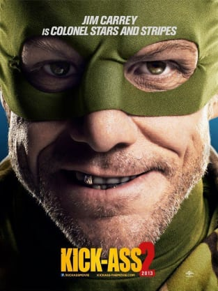 Kick-Ass 2 Jim Carrey Poster