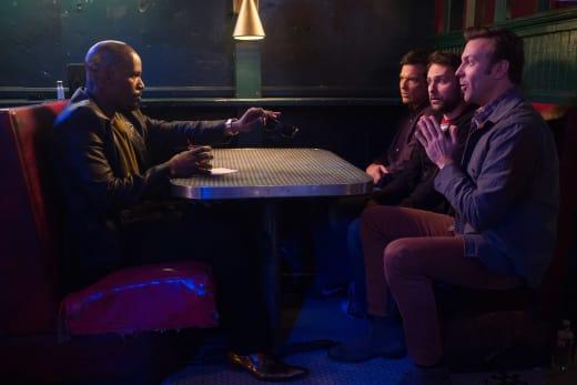 Jamie Foxx Jason Bateman Jason Sudeikis Charlie Day Horrible Bosses 2
