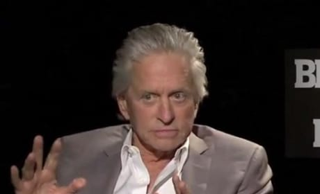 Michael Douglas Interview Photo