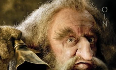 The Hobbit Oin Poster