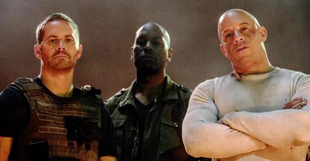 Fast and Furious 7 Paul Walker Tyrese Gibson Vin Diesel