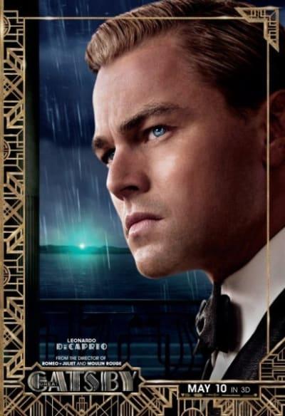 The Great Gatsby Leonardo DiCaprio Poster