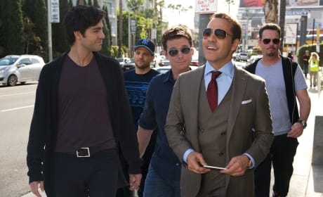 Entourage Photos: Vince & His Boys Are Back!