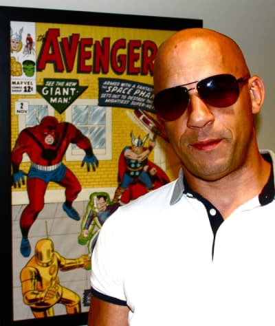 Vin Diesel at Marvel Studios