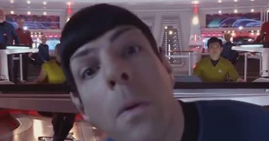 Star Trek Into Darkness Zachary Quinto Blooper Reel