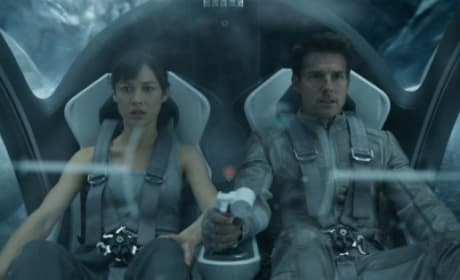 "Oblivion: Olga Kurylenko Says ""Bond School"" Got Her Action Savvy"