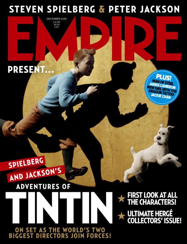 Tintin Empire Cover