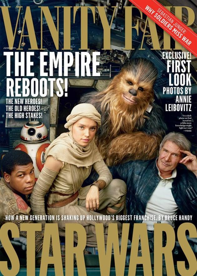 Star Wars The Force Awakens Vanity Fair Photo
