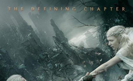 The Hobbit The Battle of the Five Armies Ian McKellen Cate Blanchett Poster