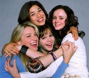 Bridget, Carmen, Lena, Tibby