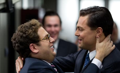 Jonah Hill Leonardo DiCaprio The Wolf of Wall Street