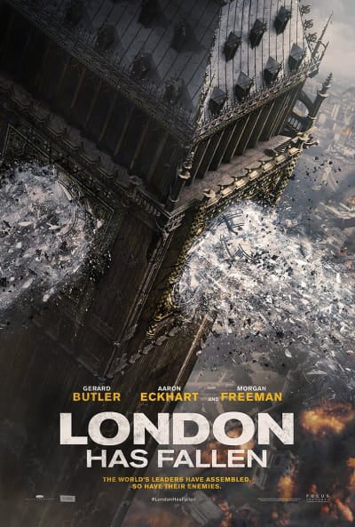 London Has Fallen Teaser Poster