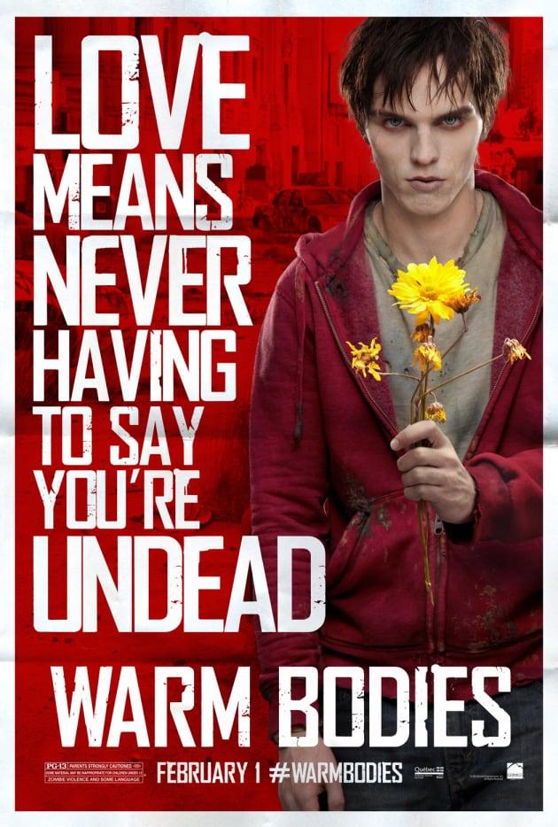 Warm Bodies Nicholas Hoult Poster