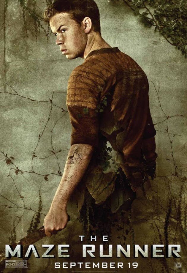 The Maze Runner Will Poulter Character Poster