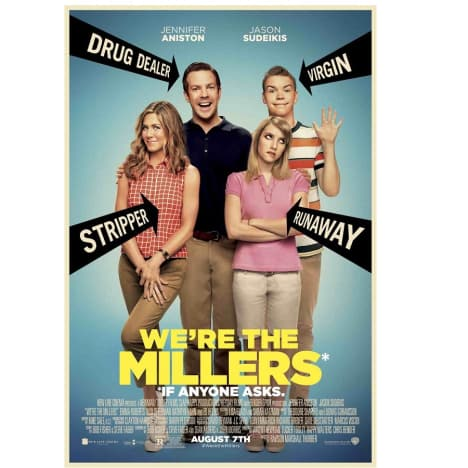 We're the Millers Prize Poster