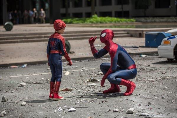 Spider-Man Meets Spider-Kid