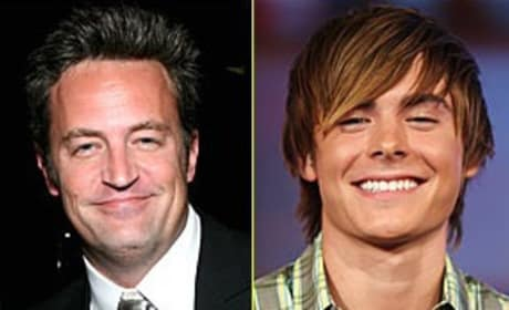 Matthew Perry Joins Zac Efron in Seventeen