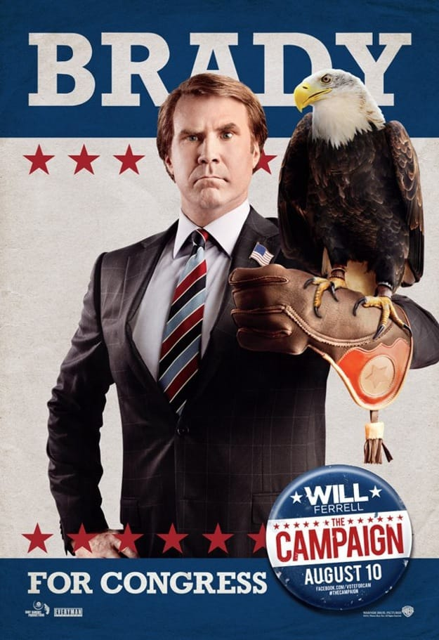 Will Ferrell The Campaign Poster
