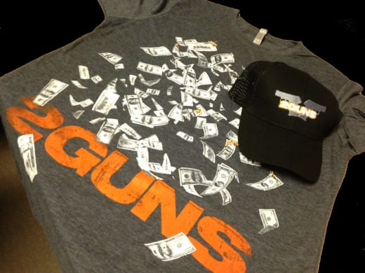 2 Guns Prize Pack