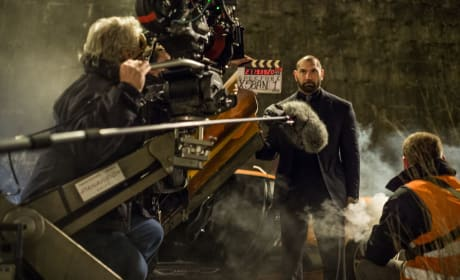 Spectre Dave Bautista Set Photo