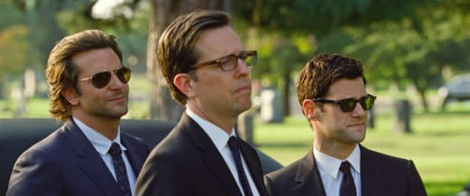 Bradley Cooper, Ed Helms and Justin Bartha The Hangover Part III