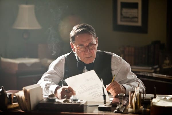 Harrison Ford is Branch Rickey in 42