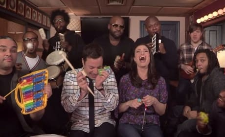 Idina Menzel Jimmy Fallon