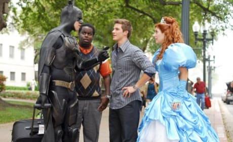 Batman is Enchanted
