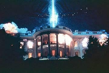 Aliens Blow Up the White House