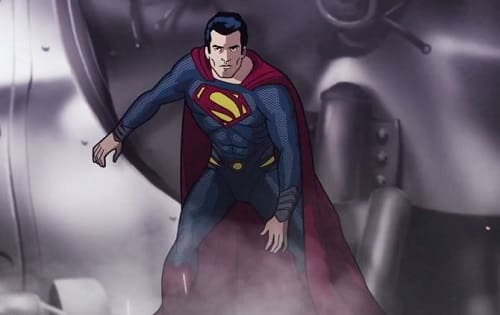 Superman 75th Annivesary Photo