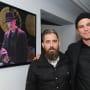 Josh Hartnett and Jeremy Kenyon Lockyer Corbell at the Bunraku Art Event