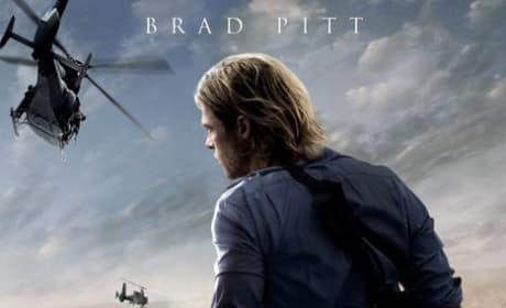 World War Z Poster: Brad Pitt Stands Tall Against Zombie Invasion